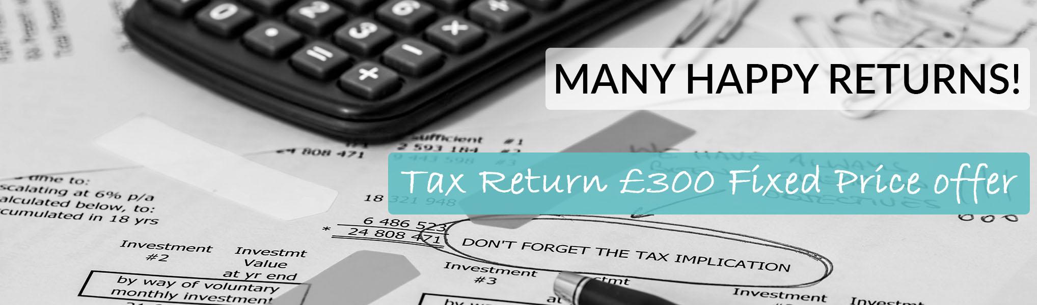 Tax offer